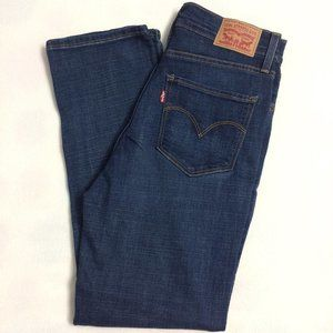 NWT - Womens Levi's 724 Straight-Leg Cropped Jeans